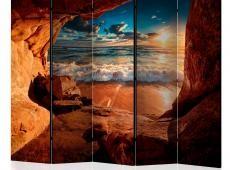Paraván - Cave: Beach II [Room Dividers]